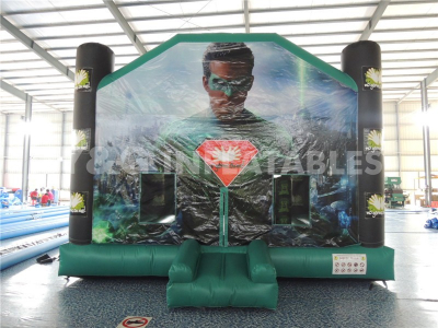 Green Lantern Theme Adult Bounce Houses