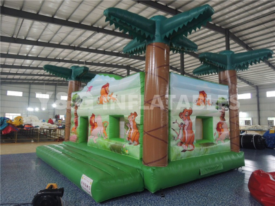 Coconut Tree Commercial Grade Bounce House