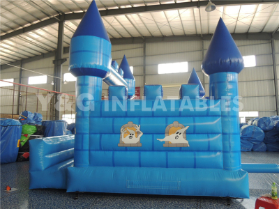 Blue Inflatable Castle  YC-03