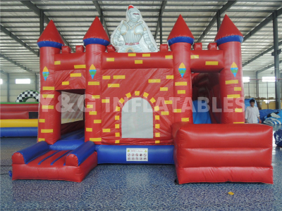 Warriors Inflatable  Castle  YC-04