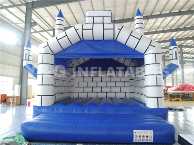 Blue Printing Inflatable Castle   YC-11