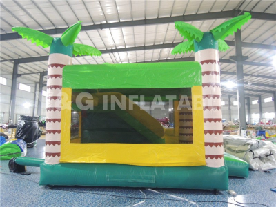 Coconut Tree Inflatable Combo Bouncer Slide   YCO-08