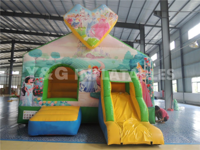Princess Inflatable Combo bouncer  YCO-09