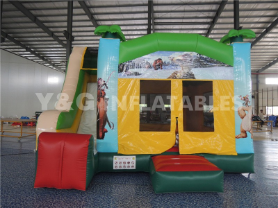 Ice Age Little Tikes Bouncy Castle With Slide