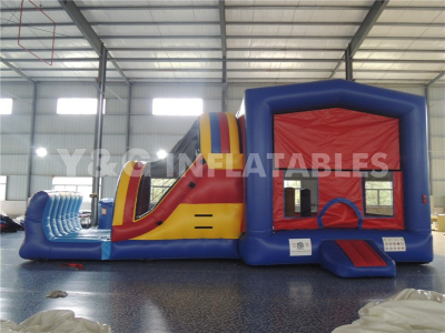 House shape water bouncer slide   YCO-28