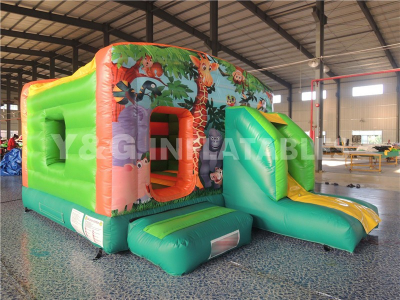 Jungle Inflatable Combo Slide   YCO-42