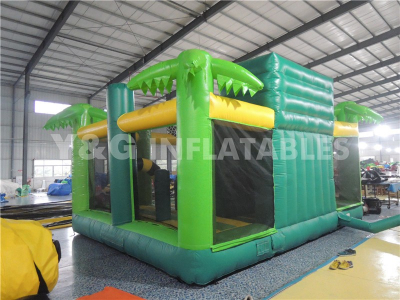 Jungle multi play bouncer with slide   YCO-38