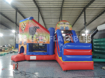 Minions Bounce House With Slide For Sale