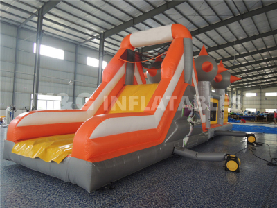 Orange Inflatable Obstacle   YO-09