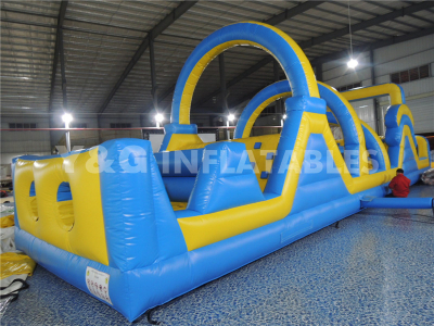 Blue and yellow obstacle  YO-13