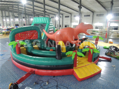 Dinosaur Theme Obstacle Track   YO-18
