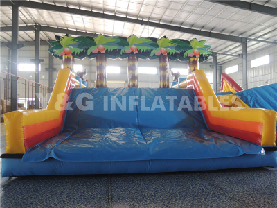 Orangutan Coconut Grove Inflatable Obstacle