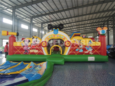 Mickey Inflatable Funland   YF-09