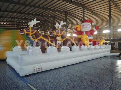 Father Christmas obstacle   YO-25