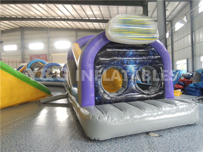 Tunnel Style Obstacle Course Bouncy Castle
