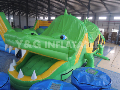 Crocodile Inflatable Obstacle   YO-29