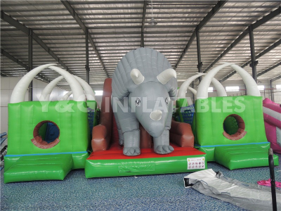 Triceratops Bounce House Park