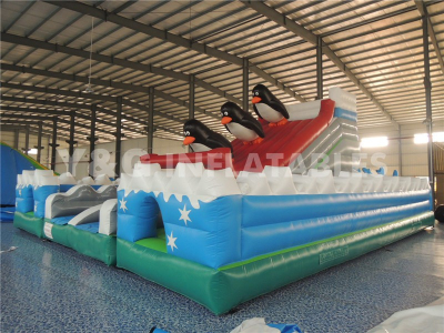 Penguin Inflatable Park