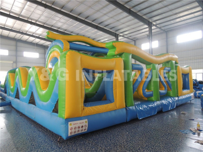 Obstacle Course Indoor Inflatable Playground
