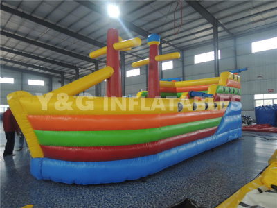 Colorful Inflatable Pirate Ship   YS-06