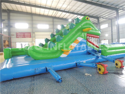 Inflatable Crocodile Snappy Slide  YS-18