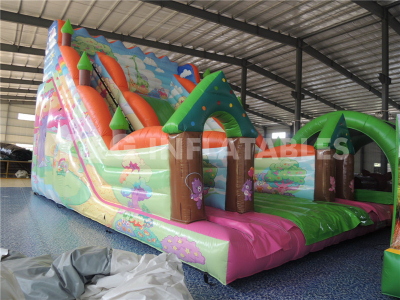 Jungle Inflatable Slide  YS-17