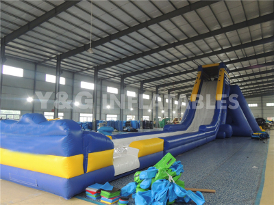 Inflatable hippo slide   YS-33