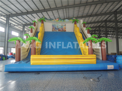 Giant Coconut Tree Inflatable Slide  YS-26