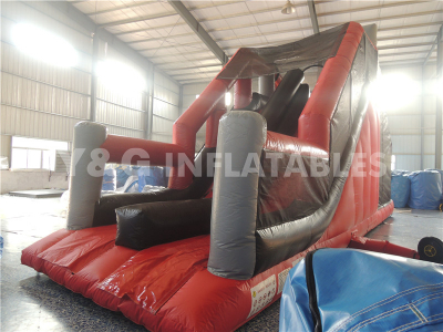 Inflatable Free Fall Jump Bouncy Slide