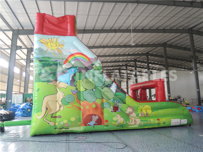 inflatable Jungle slide   YS-37