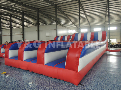 Inflatable Three Person Bungee Run   YSP-18