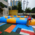 Blue Yellow Inflatable Pool   YP-04