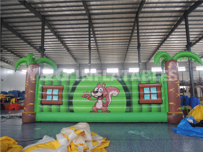 inflatable jump bag (with printing)   YSP-29