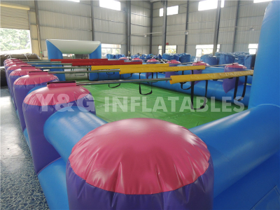 Inflatable Obstacle style football ground   YSP-31