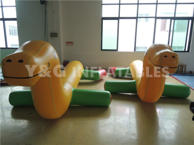 Inflatable Water Toy-dragon Ride  YW-07