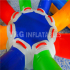 Inflatable colorful water roller  YW-14