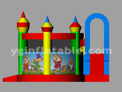 snow white with seven dwarfs theme obstacle  YNN-08