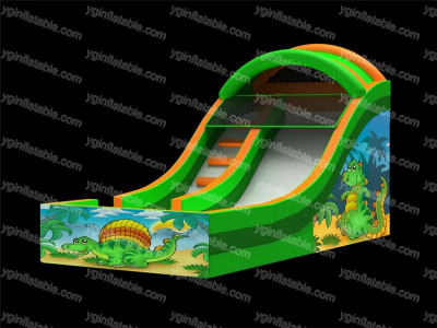 Happy Dinosaur Inflatable  Slide  YNN-15