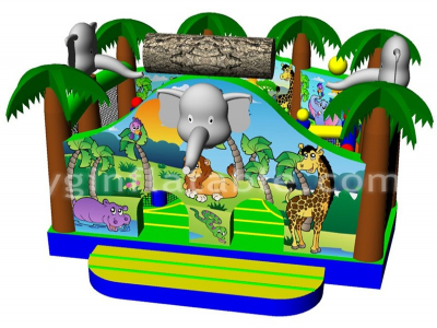 jungle elephant funland  YNN-32
