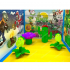 Plants Vs Zombies Inflatable Bouncer House  YNN-46