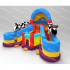 Inflatable Double Cow Slide  YNN-65