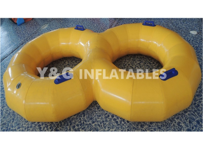 inflatable aqua double ring   YGS-02