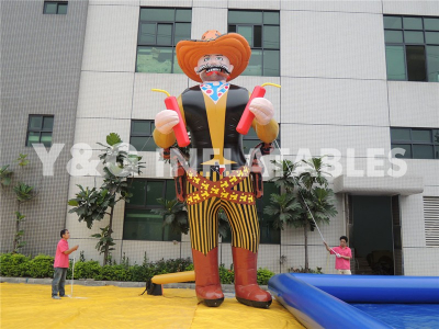 6.1M-Inflatable Decoration-west Cowman   YGS-17