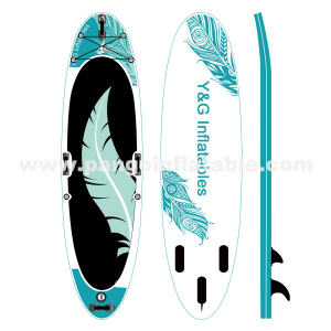 Cyan Flight Feathers Inflatable Sup YNN91