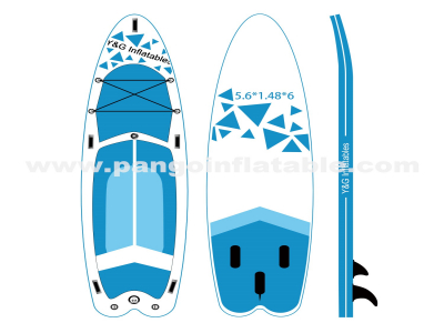 Blueness Graphics Inflatable SUP YNN107