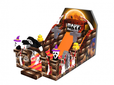 Halloween-themed inflatable slides YG-01