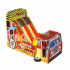 Fire Truck Inflatable Obstacle Games