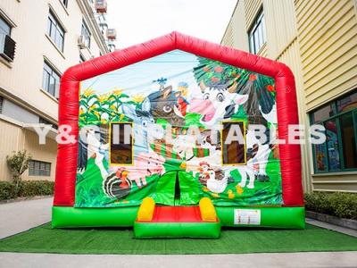 Farm Bouncer Castle Bounce House