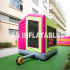 Princess Pink Jump House With Slide