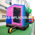 Cowboy Inflatable Bouncer And Slide